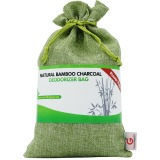 Wholesale Great Value Sg Natural Bamboo Charcoal Deodorizer Bag Power Pack 300G Most Effective Air Purifiers For Home Allergies And Smokers Portable Odor Eliminator Car Air Freshener Pistachio Green