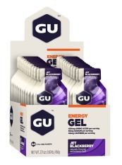 Promo Gu Energy Gel Jet Blackberry 24 Pack With Free Gift