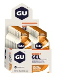 Brand New Gu Energy Gel Salted Caramel 24 Pack With Free Gift