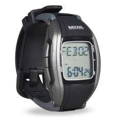 Buying Gym Pulse Heart Rate Monitor Calorie Counter Sports Watch Withchest Belt