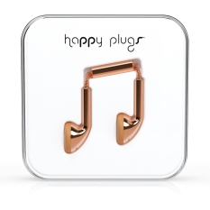 Brand New Happy Plugs Earbud Rose Gold