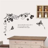 Hee Grand Removable Vinyl Wall Sticker Mural Decal Art Flowers And Vine Online