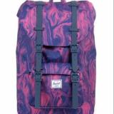 Compare Prices For Herschel Supply Co Little America Purple Marble Mid Volume