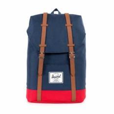 Compare Herschel Supply Co Retreat Navyred Tan