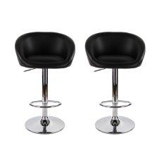 Best Offer Bs01 High Bar Stool Black Set Of 2