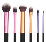 High Quality 2016 New 5Pcs Professional Beginner Makeup Brush Cosmetic Brushes Real Makeup Powder Brushes Techniques Set Kit Price