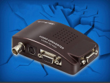 Latest High Resolution S Video Bnc To Vga Video Converter Box