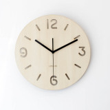 Homeloo Wooden Wall Clock Retro Numeric Homeloo Discount