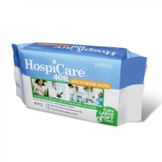 Hospicare *D*Lt Body Wipes 40R Resealable 18 Packets Hospicare Cheap On Singapore
