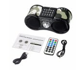 Hot Camouflage Stereo Fm Radio Usb Tf Card Speaker Mp3 Music Player Fm Radio With Remote Control Radio Shopping