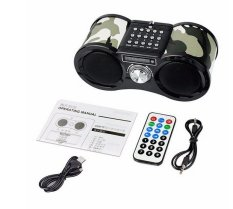Who Sells The Cheapest Hot Camouflage Stereo Fm Radio Usb Tf Card Speaker Mp3 Music Player Fm Radio With Remote Control Radio Online