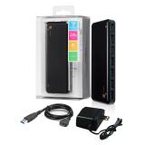 Hotway Probox 7 Port Usb 3 Hub With Ac Adapter Black Shopping