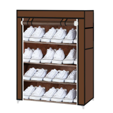House Scenery Living Room Utility Shoes Cabinet Diy Assemble Shoes Racks Folding Non Woven Fabric Dustproof Waterproof Lockers F1006 03 Coffee Discount Code