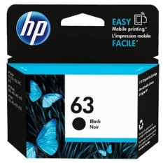Hp Ink Cartridge 63 Black Retail Box On Line