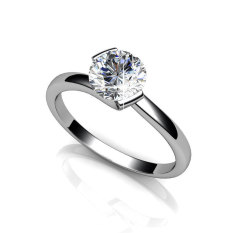 Huggy Ring Zirconia From Swarovski® In Stock