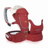 I Angel Miracle All In One Hipseat Carrier Melange Red Intl I Angel Cheap On South Korea