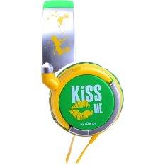 Best Rated Idance Kiss Me Headphone Green