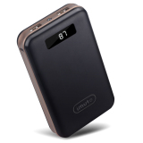 New Imuto 20000Mah Compact External Battery Power Bank Black