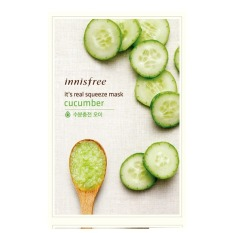 Lowest Price Innisfree It S Real Squeeze Mask Cucumber Set Of 10