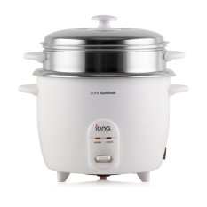 Purchase Iona Glrc181 Stainless Steel Rice Cooker With Steamer 1 8L Online