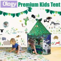 Compare Prices For Japanese Premium Abc Green Kids Play Camping Tent
