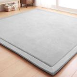 Buy Japanese Premium Living Room Carpet Mats Gray 190 190Cm Oem Online
