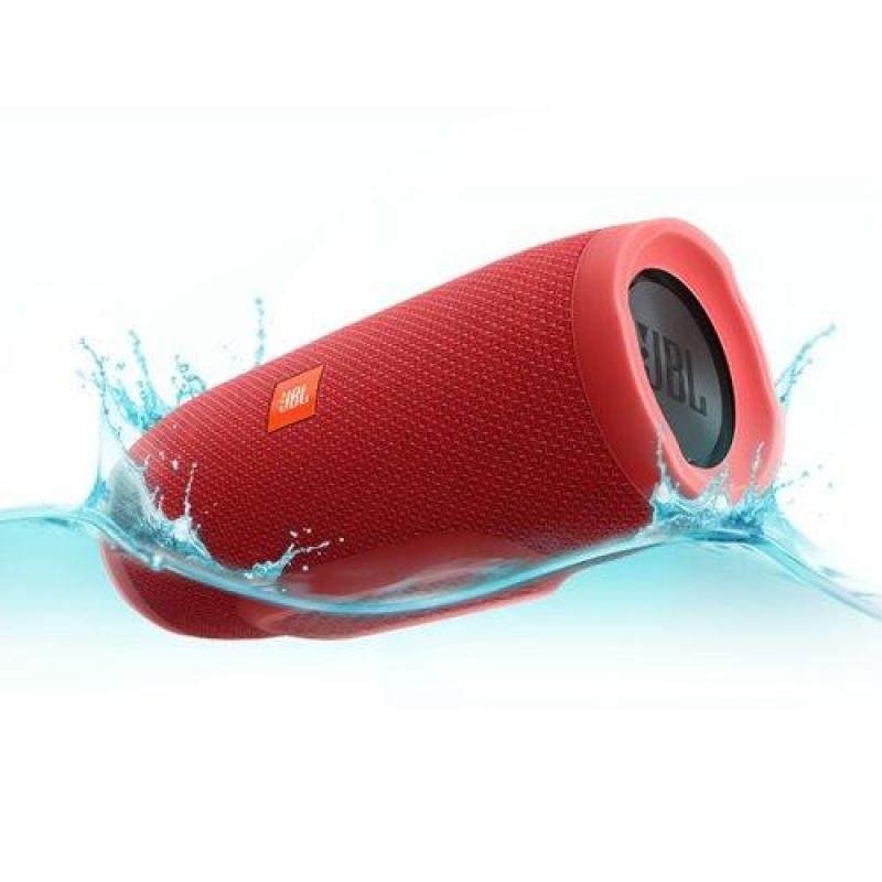 JBL Charge 3 Portable Bluetooth Speaker (Red) Singapore