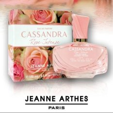 Compare Price Jeanne Arthes Cassandra Rose Intense Edp 100Ml On Singapore