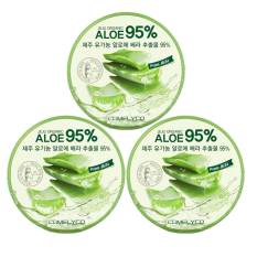 Jeju Organic Soothing And Moisture Aloe Vera 95 Soothing Gel Set Of 3 Coupon