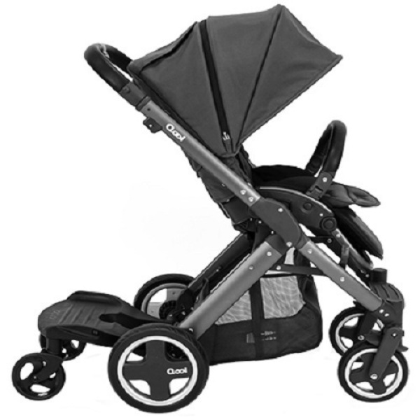 Joovy Qool Graphite Compact and Stylist Stroller Black Singapore