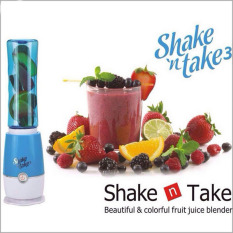 Juice Extractor Shake N Take 3 Smoothie Blender With 2 Sport Bottles Mini Juicers Blue Review