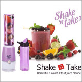 Best Reviews Of Juice Extractor Shake N Take 3 Smoothie Blender With 2 Sport Bottles Mini Juicers Purple