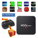 Buy Jusheng Free I8 Wireless Mini Keyboard Mxq Pro 4K Amlogic S905 Chipset Android 5 1 Lollipop Os Quad Core 1G 8G 4K Google Streaming Media Player Tv Box With Wifi Hdmi Dlna