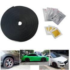 Best Price Kabis Rimblades Wheel Rim Protector 4 Wheel Moulding Vehicle Car Tire Guard Line Rubber Moulding 8M Black