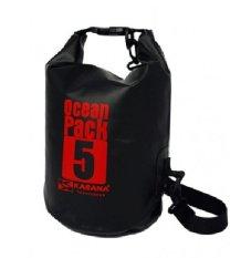 Karana Ocean Pack 5 Litre Waterproof Dry Bag Black