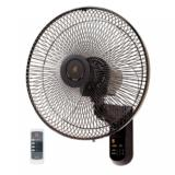 Kdk M40Ms Wall Fan 16 Inch With Remote Control Black Price