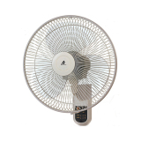 Buy Kdk M40Ms Wall Fan 16 Inch With Remote Control Grey Singapore
