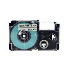 Who Sells Kenight 2 Packs Xr12We Label Tape Cassette Compatible For Casio P Touch Standard Laminated Adhesive Printing Machines Black On White 1 2 Inch X 26 2 Feet Intl