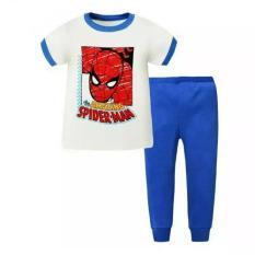 Sale Kids Spider Man Short Sleeve Pyjamas Oem Original