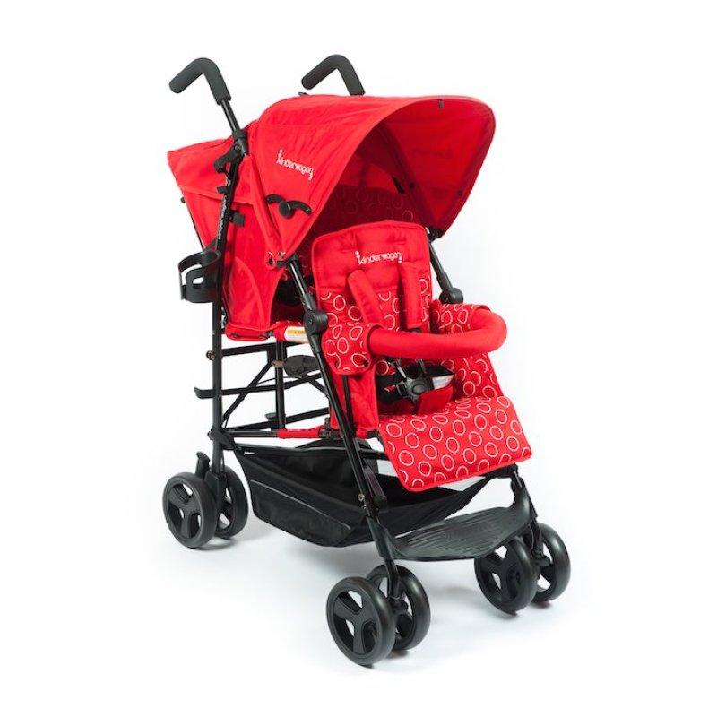 Kinderwagon Hop Tandem Umbrella Stroller - Red v2 Singapore