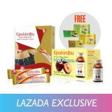 Compare Prices For Kinohimitsu Perfect Slimming Set Kiloscut 30 S D Tox Plum Juice 6 S Free D Tox Tea 3 S