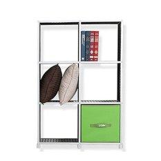 Korean Selection Living Prefab S Cube Storage Cabinet 2x3 Black