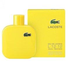 Lacoste L 12 12 Jaune Optimistic Eau De Toilette Sp 100Ml For Sale Online