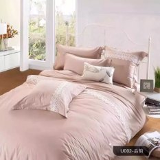 Price Lacy Pastel Colour Fitted Bedsheet Set Khaki Oem Online