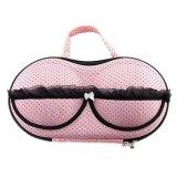 Lady Travel Bra Underwear Storage Box Pink Lowest Price