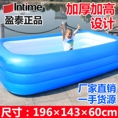 Cheapest Large Number Of Family Children S Home Swimming Pool For Adults And Children Swimming Pool Inflatable Large Thickening Pool Ball Pool Intl