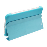 New Leather Case Cover For Samsung Galaxy Tab 3 7 T210 T211 Film Stylus Blue