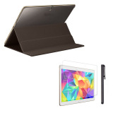 Where Can I Buy Leather Case Cover For Samsung Galaxy Tab S 10 5Inch T800 Film Pen Brown