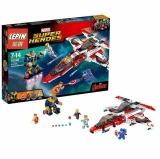 Buy Lepin 552Pcs 07022 Super Heroes Captain America Jet Propelled Aircraft Building Blocks Minifigures Compatible With Legoe 76049 Lepin Cheap