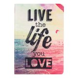 Buy Life You Love Flip Stand Leather Case Cover For Ipad Mini 1 2 3 Retina Multicolor Export Online